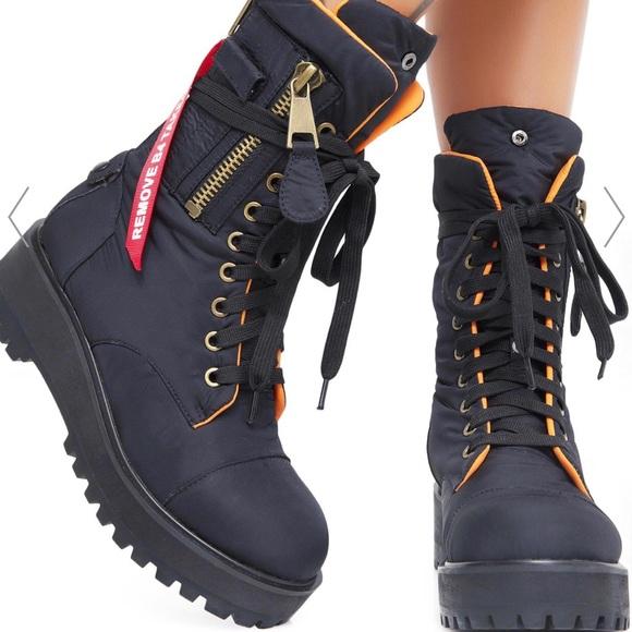 Poster Girl Combat Boots | Poshmark